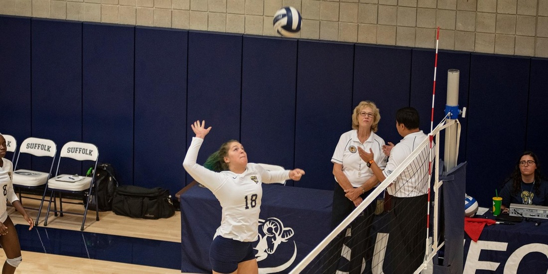 Emerson Takes Volleyball Down in Three