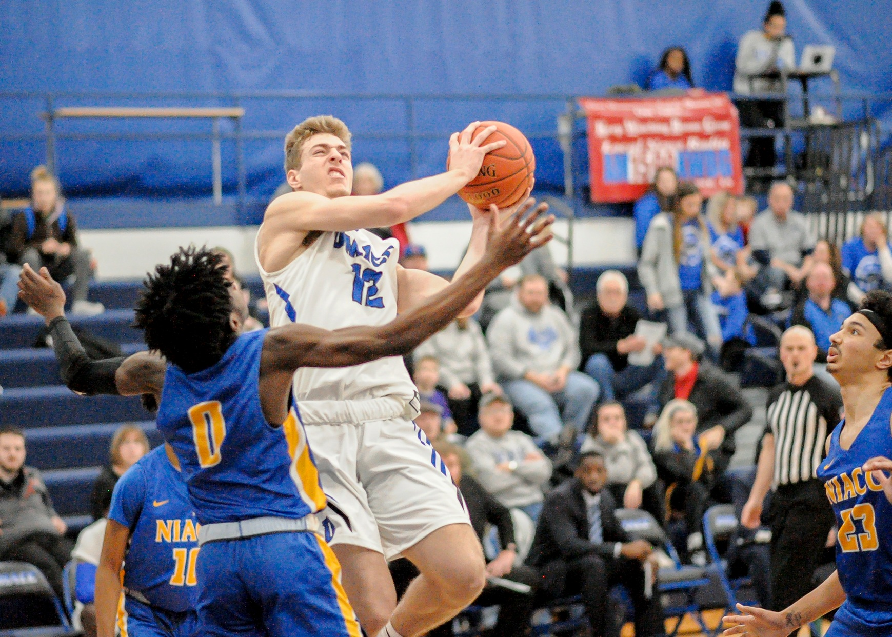 Fifth-ranked DMACC men's basketball team routs fourth-ranked NIACC, 107-63