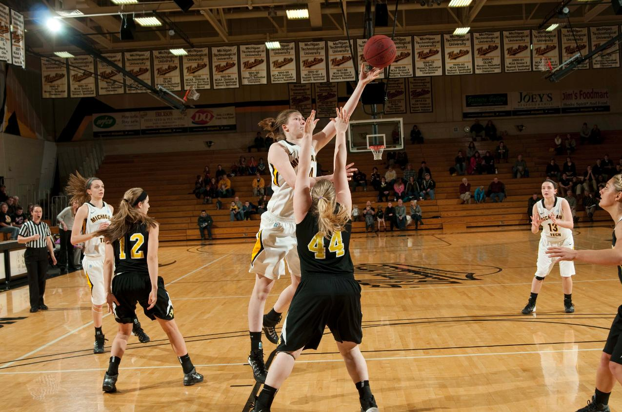 PHOTOS: Women's Basketball Against Ohio Dominican on Jan. 2 - Michigan Tech Athletics
