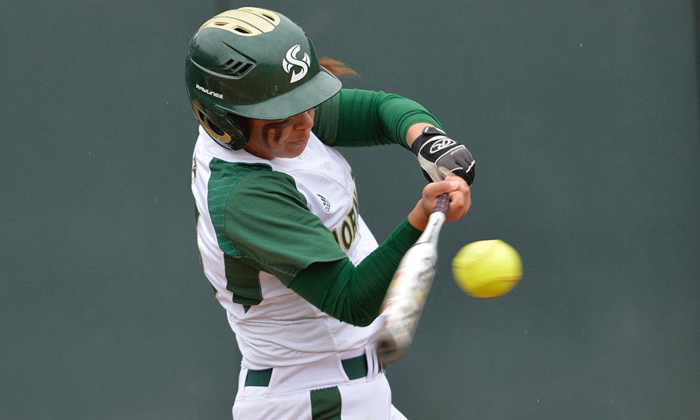 STRONG'S GRAND SLAM LEADS TO 7-3 WIN OVER MONTANA, SOFTBALL ADVANCES IN THE BIG SKY TOURNAMENT