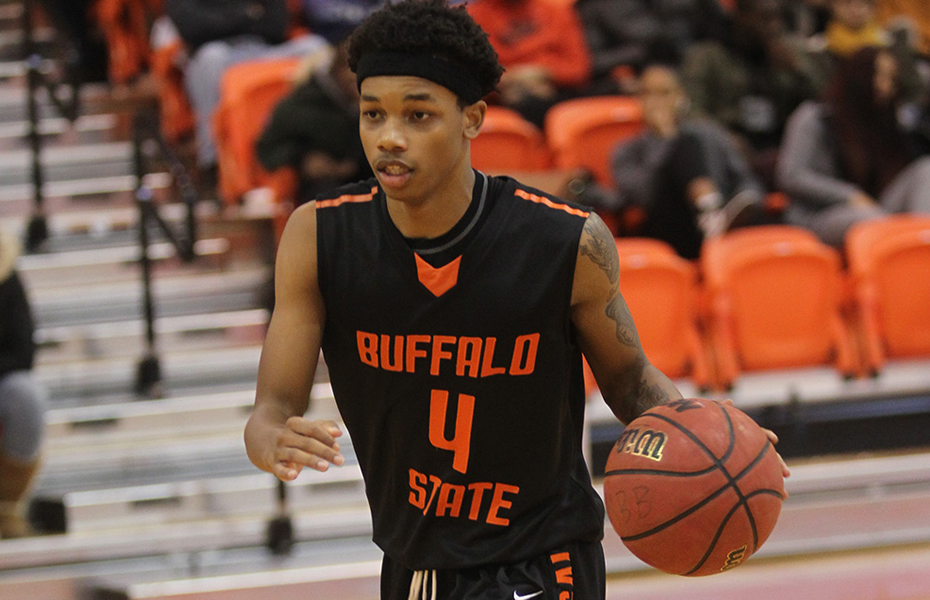 Buffalo State's Adams recognized as Men's Basketball Athlete of the Week