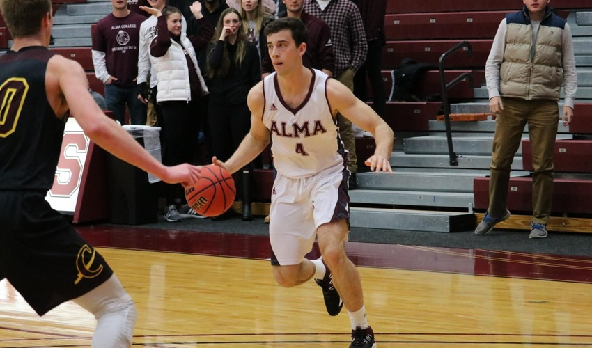 Scots fall to Calvin in MIAA home opener, 80-63