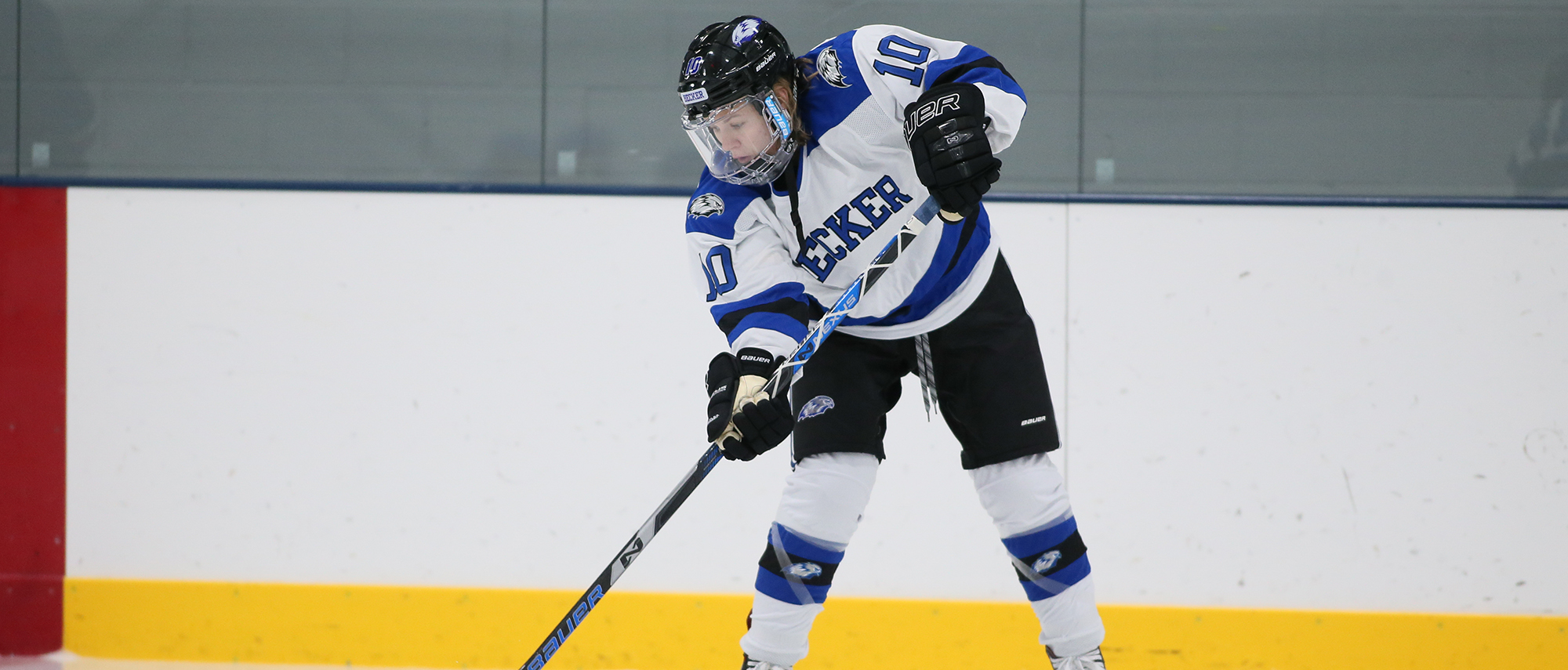 Bailey Coons and the women's ice hockey team skated to a 1-1 tie against Johnson and Wales Sunday afternoon.