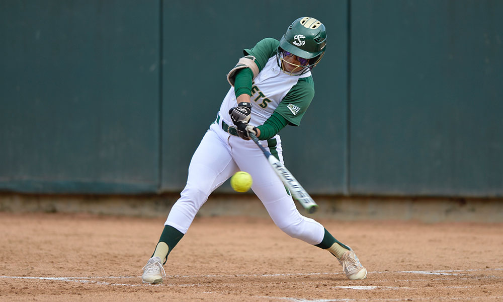 SOFTBALL WINS FIFTH IN A ROW, BEATS SANTA CLARA, 3-1