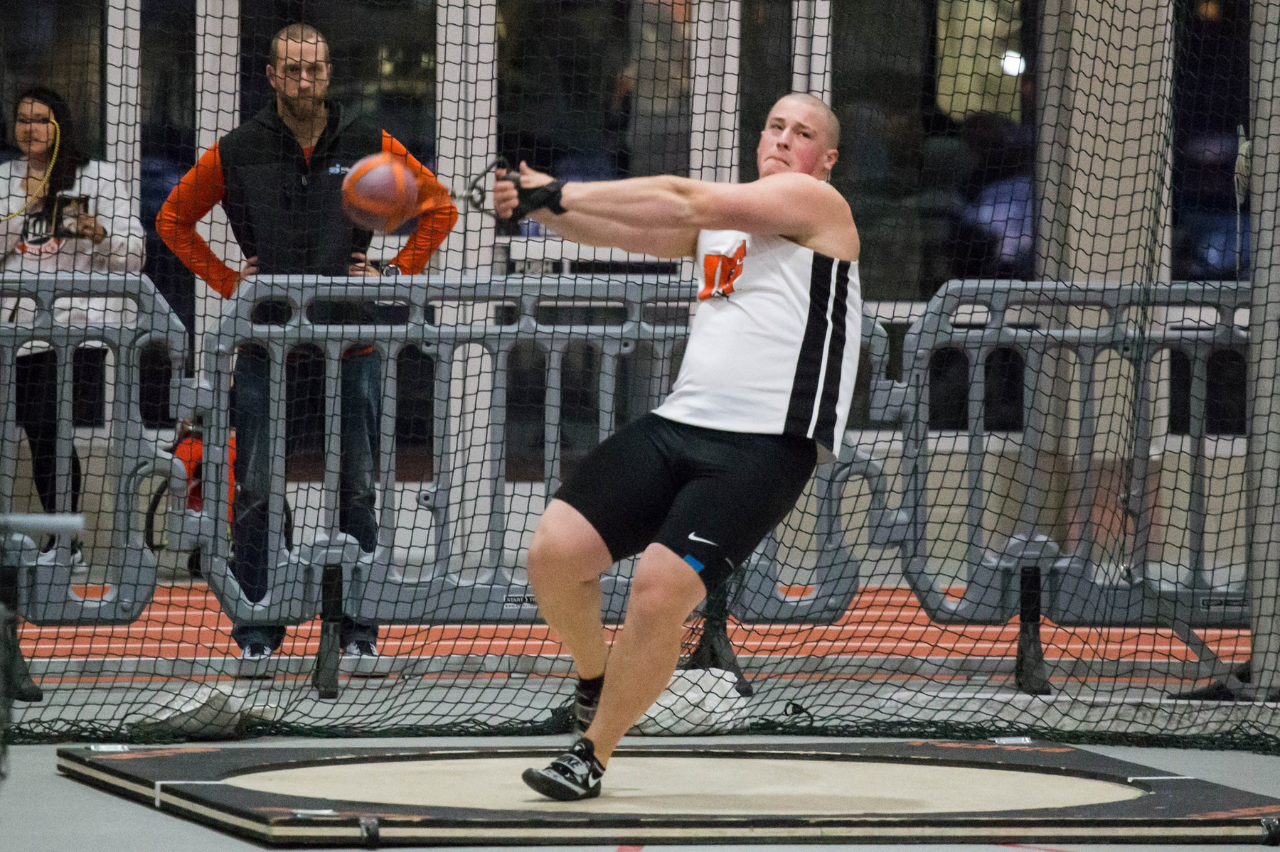 Austin Combs Wins National Title in Weight Throw