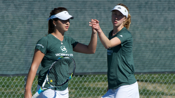 WOMEN'S TENNIS OPENS BIG SKY PLAY WITH TWO 7-0 SHUTOUTS