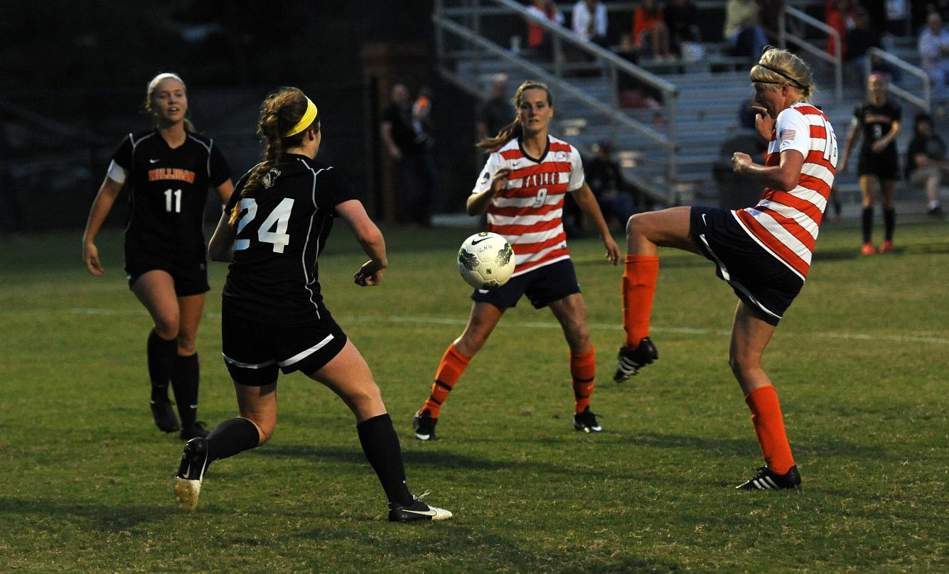 Lady Eagles topple Milligan with three second-half goals