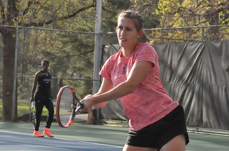Women's Tennis: Agnes Scott edges Panthers 5-4 in hard fought USA South match