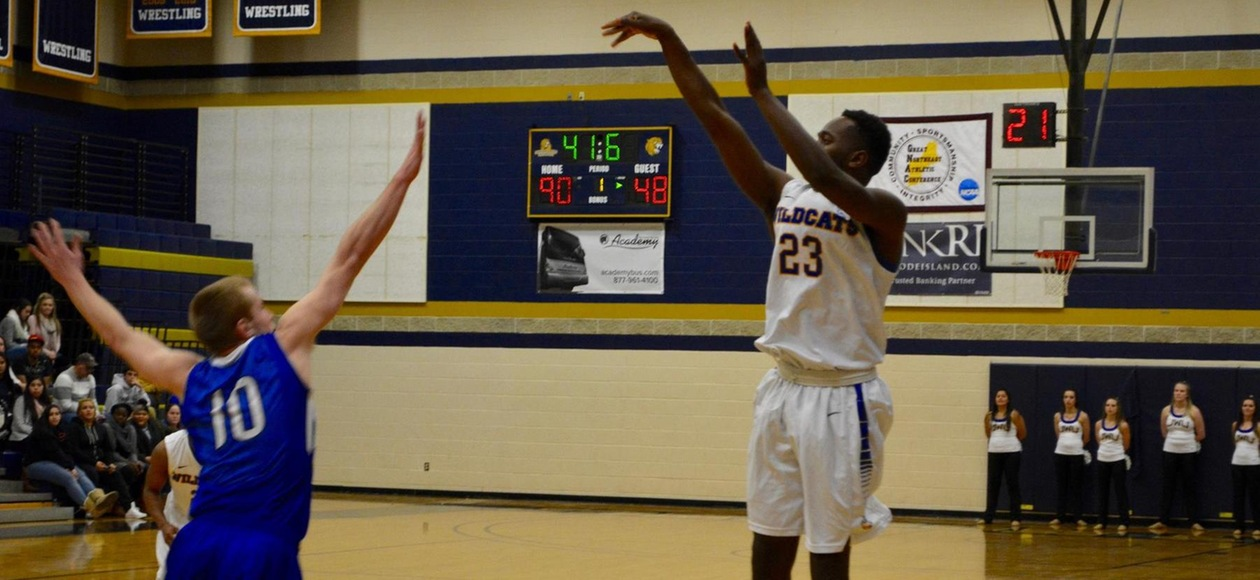 Men's Basketball Winning Streak Halted at Albertus Magnus