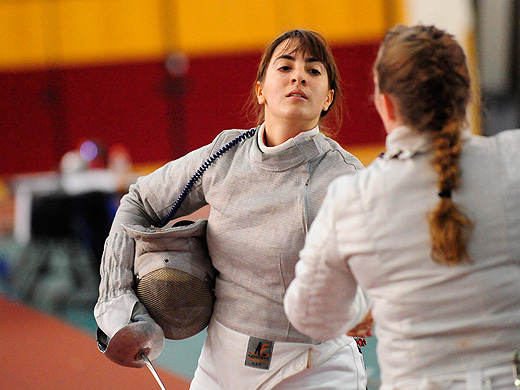 Impressive day for women's fencing at Haverford Invitational