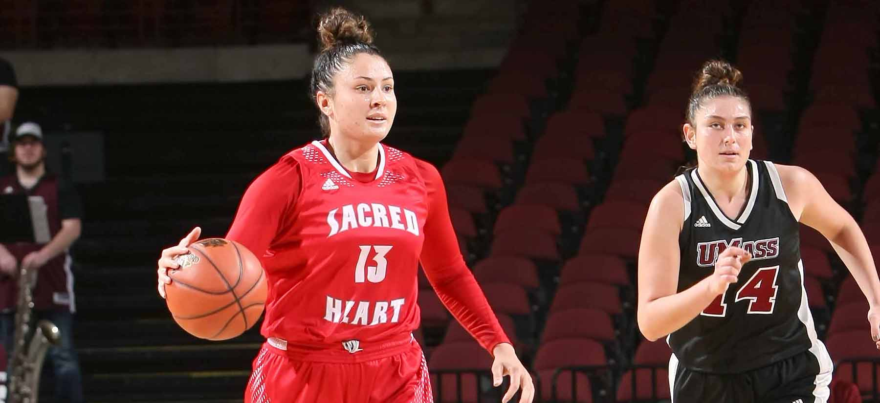 Strong Offensive Effort Lifts Sacred Heart Past New Hampshire 71-60