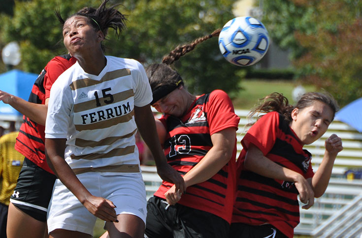 Women's Soccer: Panthers knock Ferrum from the ranks of the unbeatens with 2-1 win