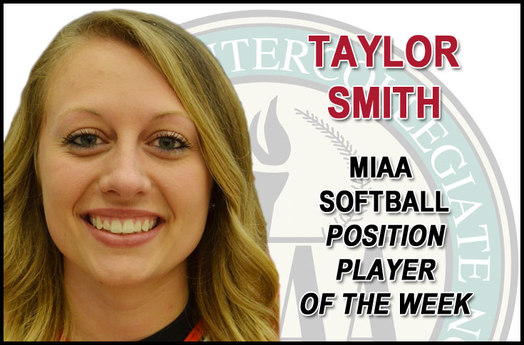 Olivet College's Smith tabbed MIAA Position Player of the Week