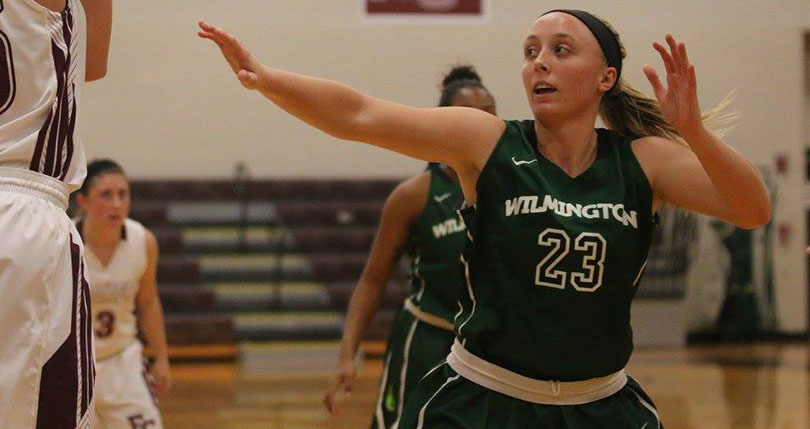 Junior Savannah Hooper scored 11 of her career-high 17 points as Wilmington came back to beat Heidelberg Saturday. (Wilmington file)