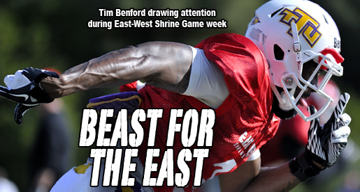 Golden Eagle Tim Benford ready for spotlight in East-West Shrine game