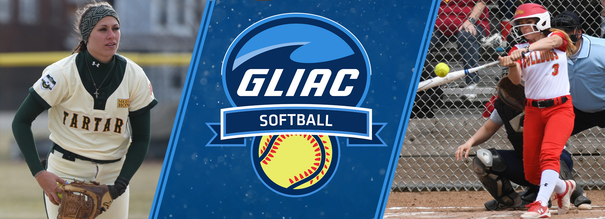 WSU's Guitar and FSU's Fleming pick up Week 1 GLIAC softball honors