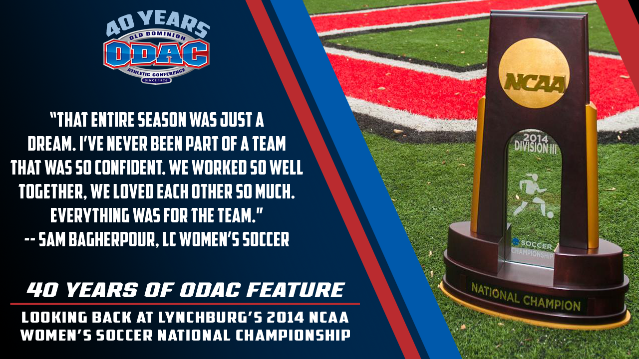 ODAC Top 40: 2014 Women's Soccer National Championship