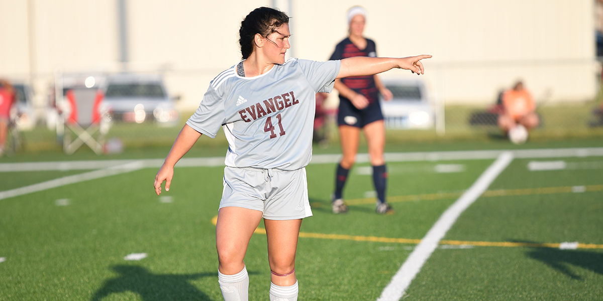 Evangel Women's Soccer Plays to Scoreless Draw at Clarke
