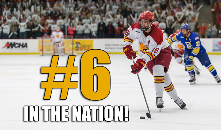 Ferris State Hockey Up To #6 In The Nation This Week