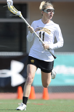 Emily Coady scored eight goals in the 2010 America East Championship.