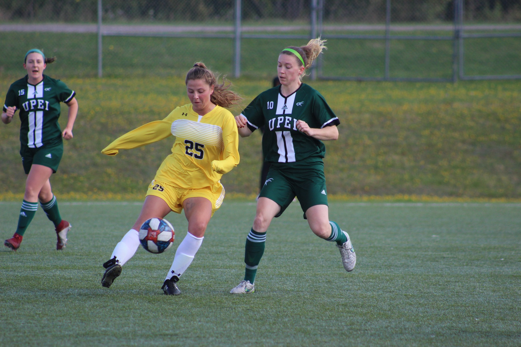 Tigers down UPEI 1-0 with late goal