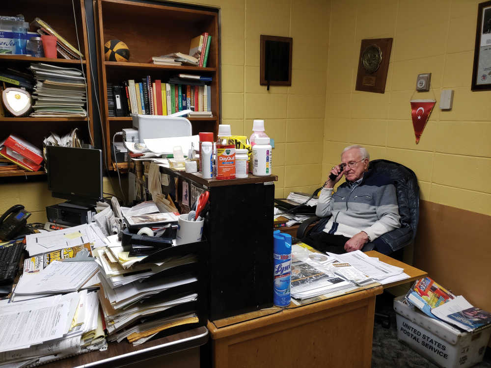 After 36 years, Bess is in no hurry to change offices