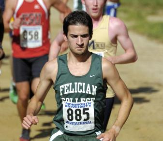 Record-setting cross-country alumnus Rob Albano '14 won his first marathon in August 2013. (Steven R. Smith)