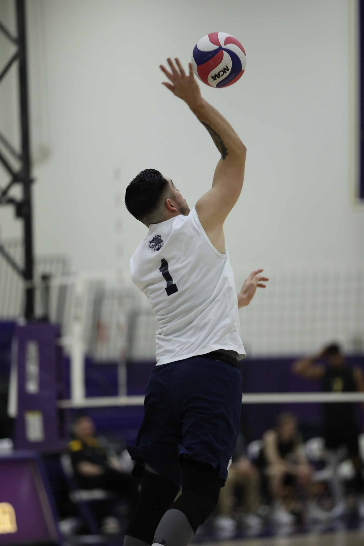 Men's Volleyball: Raiders drop the Lions in a 3-0 sweep.