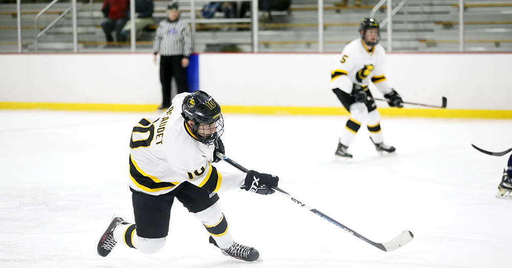 Nichols Pulls Away from Hockey in Third Period