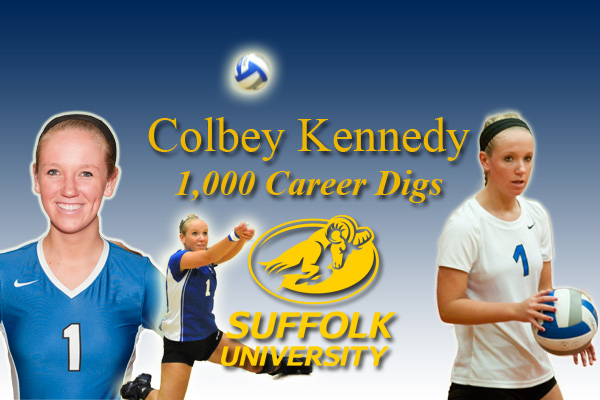 Volleyball's Kennedy Reaches Career Milestone in Win