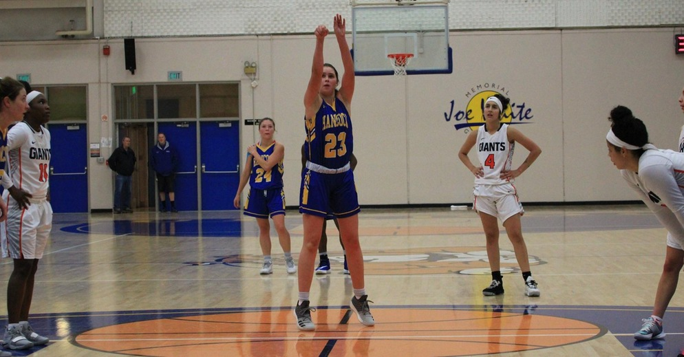 Women's Basketball Falls to Chabot College on the Second Day of De Anza Tournament