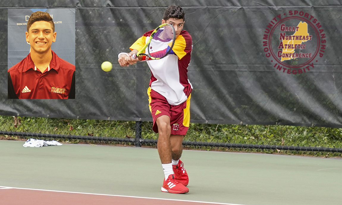 Torres Named GNAC Men's Tennis Rookie of Week