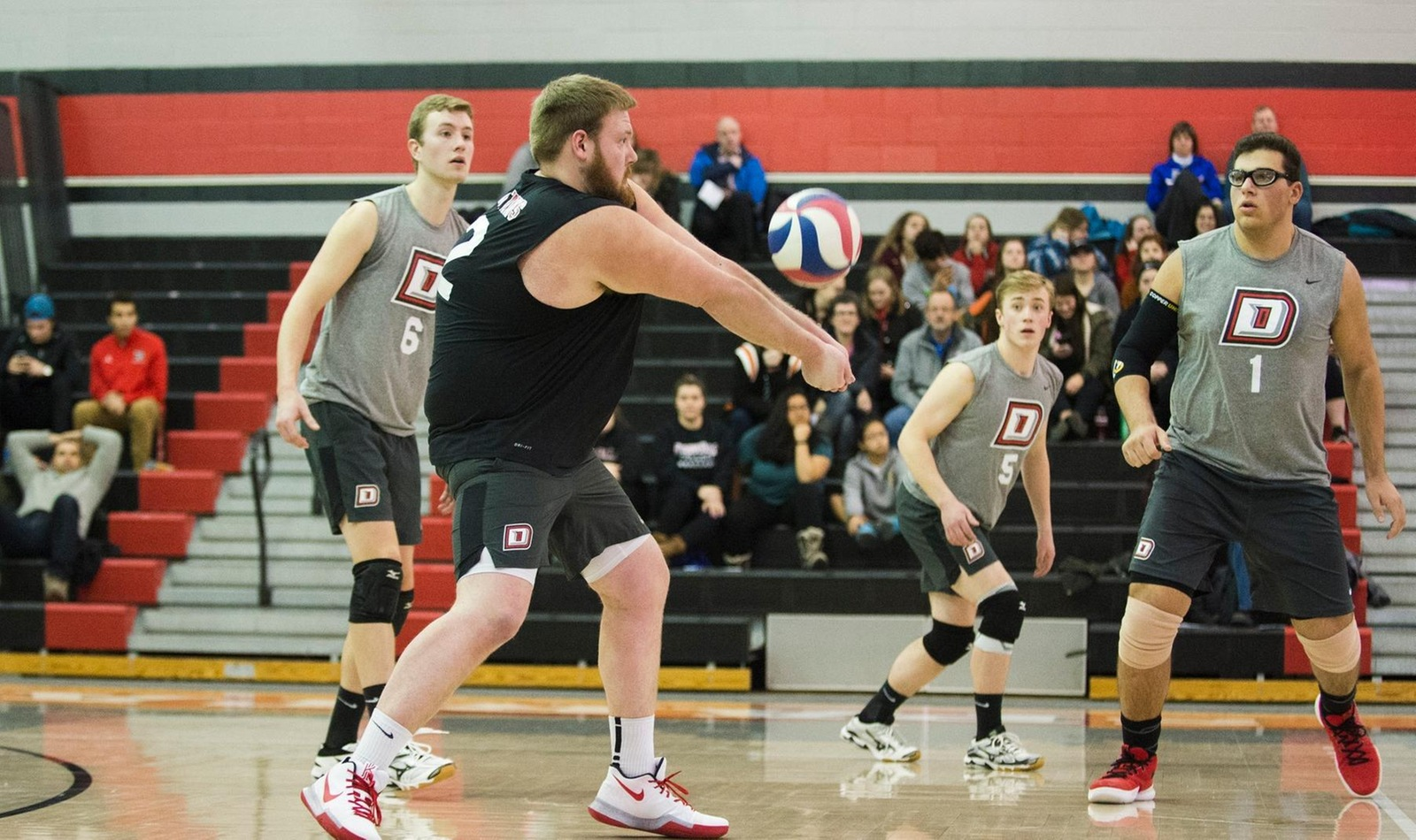 D'Youville Volleyball Keeps Playoff Hopes Alive with Saturday Split