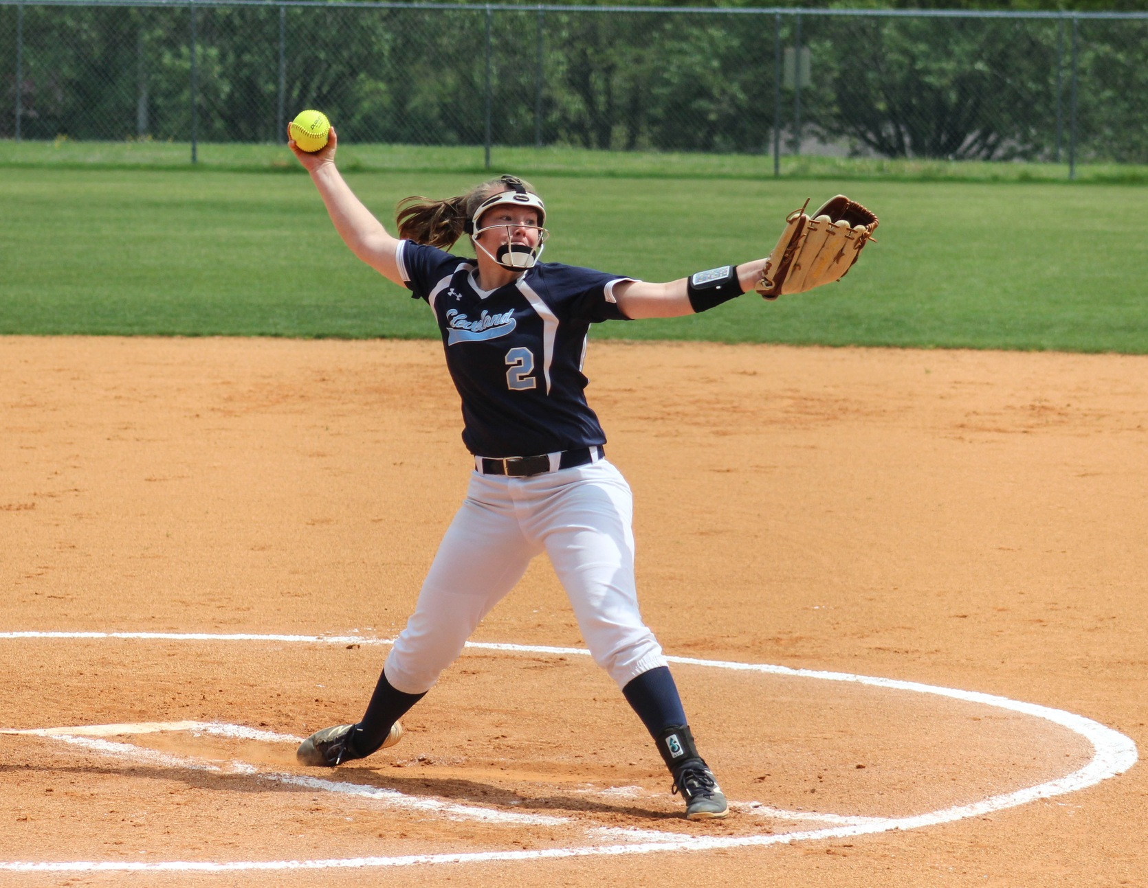 Pickens' Shutout, 4th Inning Outburst Advances Lady Cougars