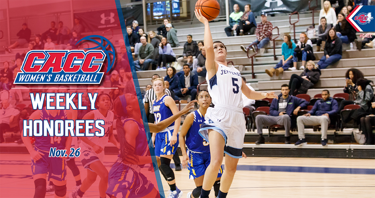 CACC Women's Basketball Weekly Honorees (Nov. 26)