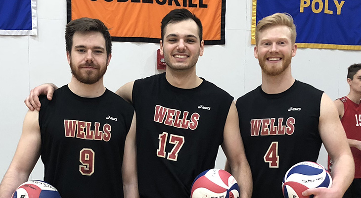 Seniors Honored; Men's Volleyball Wins Twice