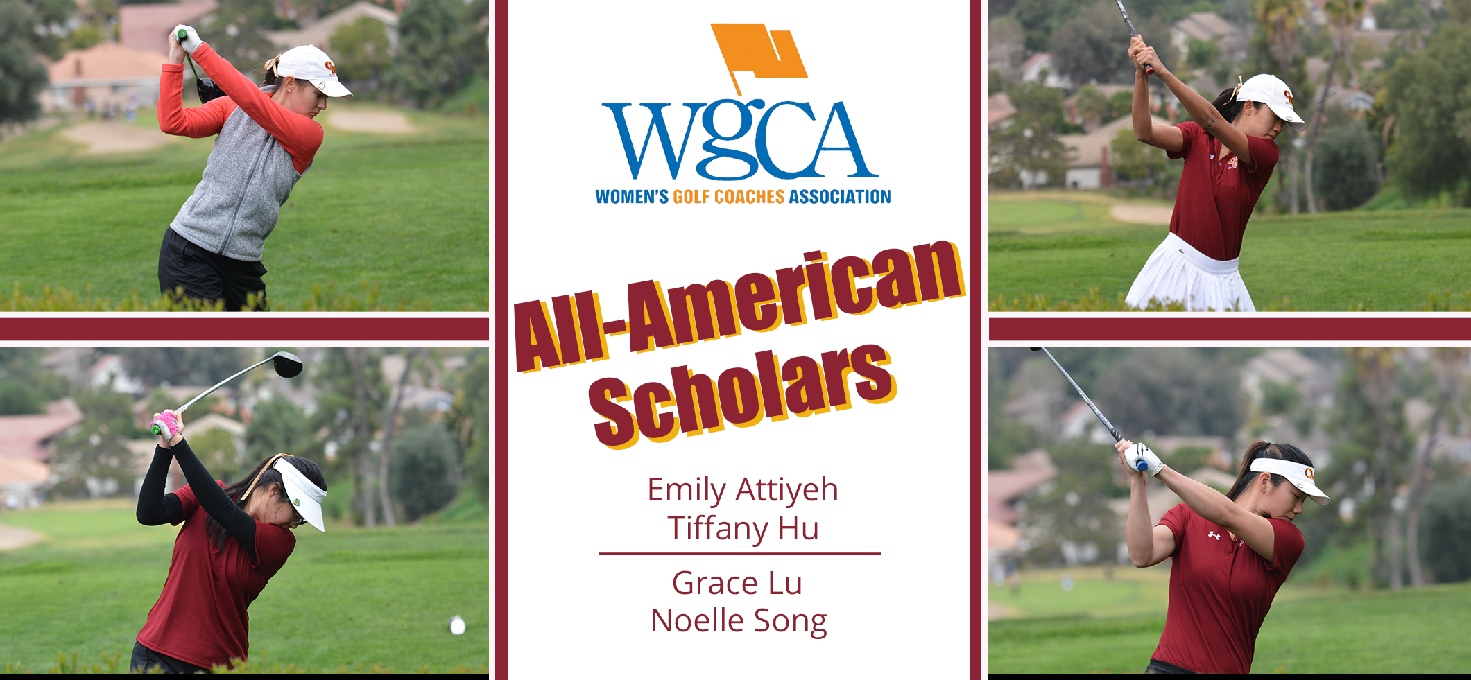 Four CMS Women's Golf Players Earn WGCA All-American Scholar Honors