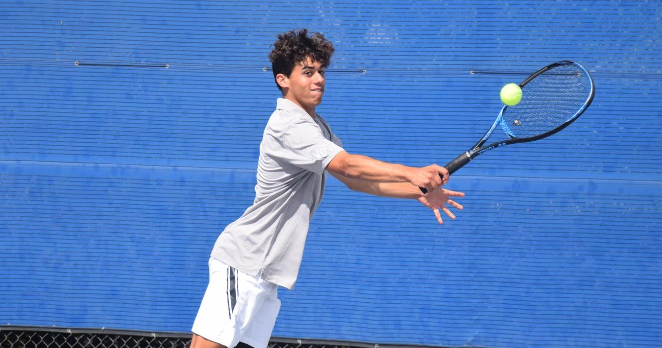 Men's tennis team finishes undefeated OEC season, playoffs next