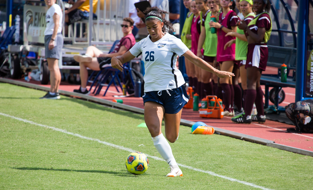 Shivani Beall's Hat Trick Leads Emory Women's Soccer Past Covenant