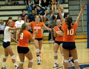 Volleyball eyes season sweep of Mars Hill