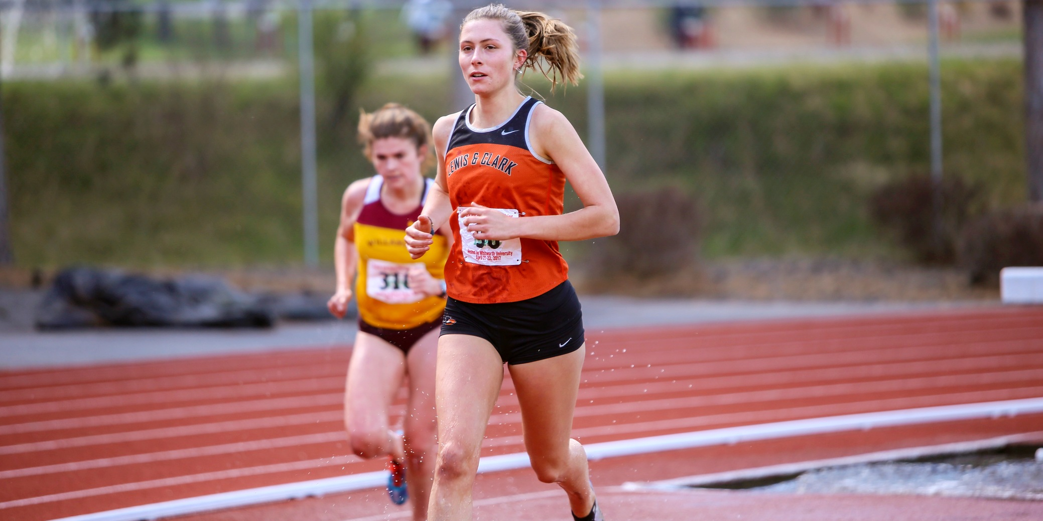 Swanson wins NWC championship in steeplechase