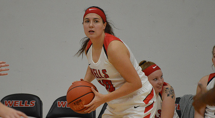Berks Women's Basketball Outlasts Wells