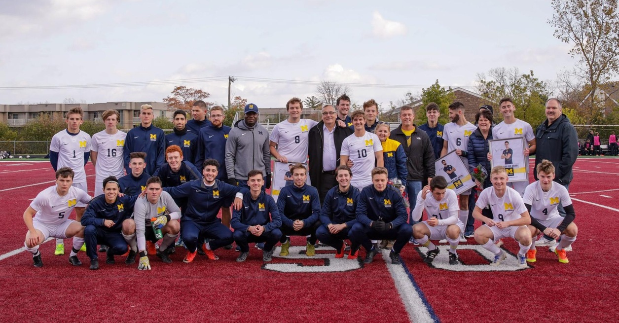 Wolverines fall on Senior Day to No. 18 Warriors