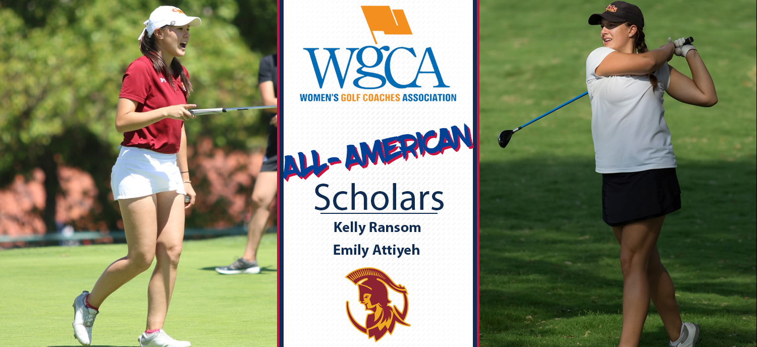 Emily Attiyeh (left) and Kelly Ransom (right) are 2018 All-American Scholars.