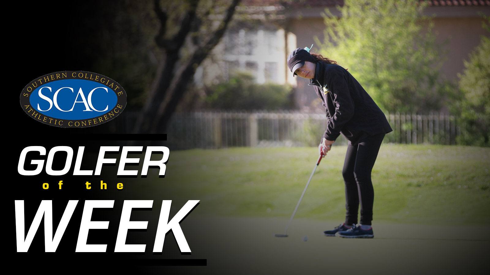 Olivieri Earns SCAC Women's Golfer of the Week