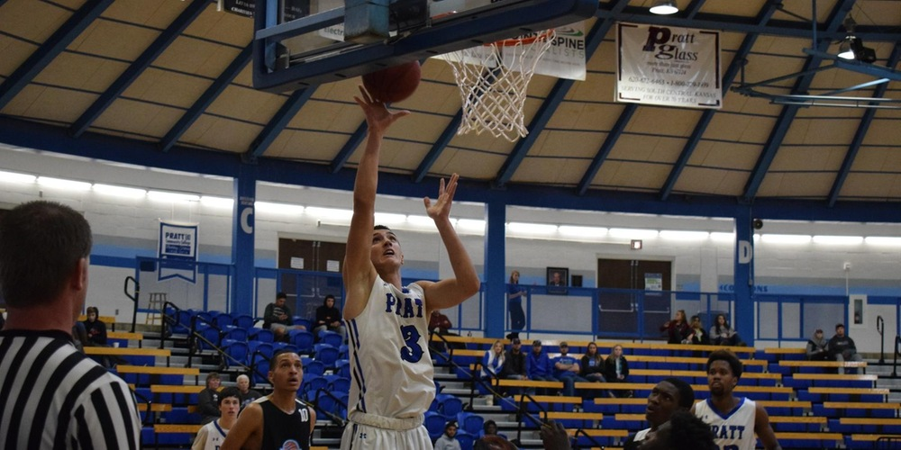 Martin Lakovic gets a wide-open layup against Spring Creek.