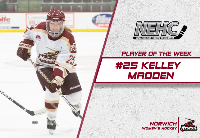 Kelley Madden NEHC Player of the Week