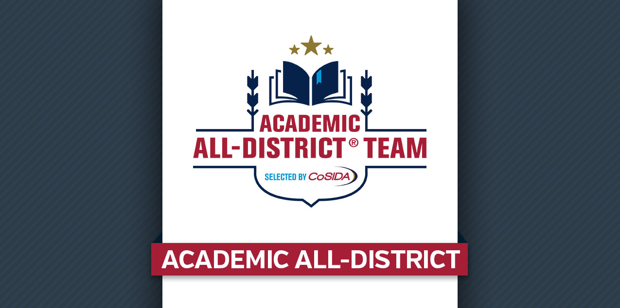 Schreiner's Gumbs Named to CoSIDA Academic All-District Team