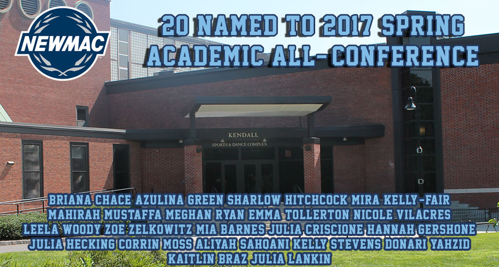 20 Named to NEWMAC Spring Academic All-Conference Team