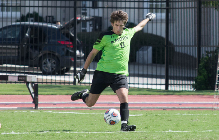 Emory Men's Soccer Plays to 1-1 Tie with Carnegie Mellon